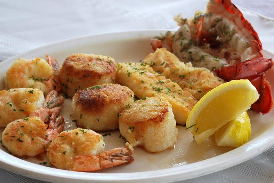Red Mill Supper Club: Seafood Platter