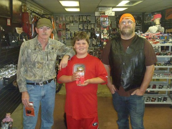 Cherokee County Cycles: JIMMY WITH THE MOONSHINERS AT CCC
