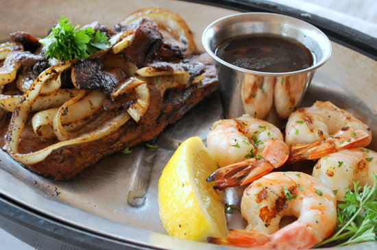 Red Mill Supper Club: Steak and Shrimp