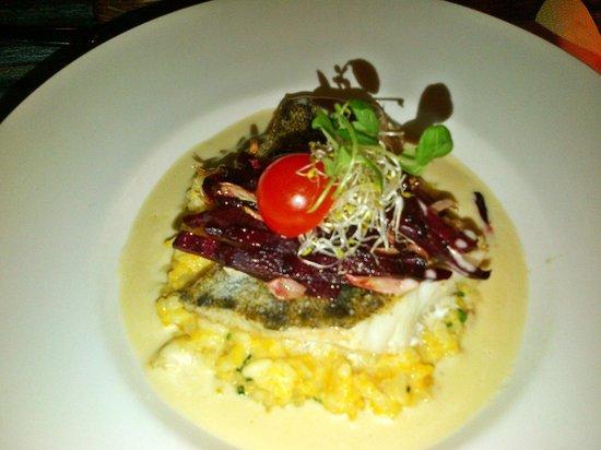 Von Krahli Aed: Baltic fish on pumpkim risotto