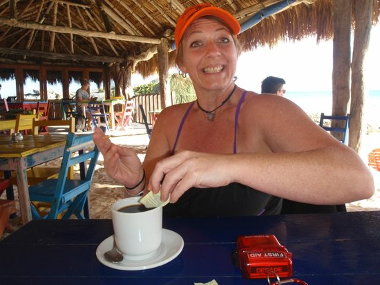 "The Restaurant at ZAMAS : Lisa said, ""Best cup of coffee EVER!"""