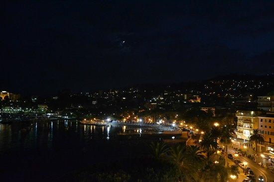 Hotel Ristorante Bandoni: vista notturna dal terrazzo