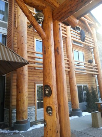 The Lodge at Jackson Hole: They're everwhere.