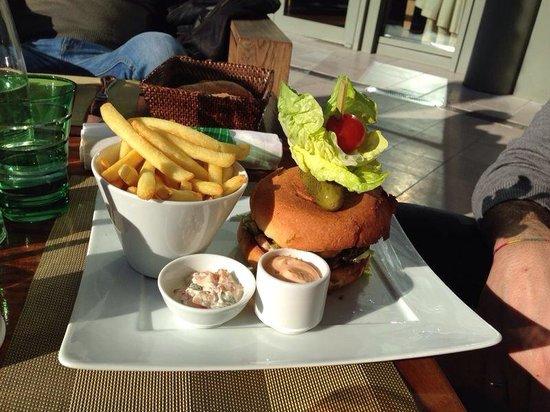 L'Orange Verte: Hamburger