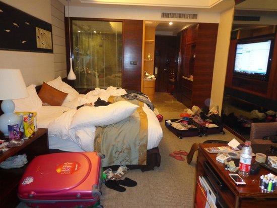 InterContinental Foshan: Bagunça no quarto