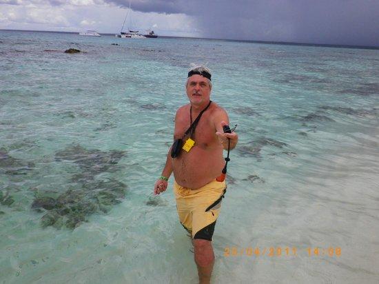 Isla Catalina : snorkel en aguas transparentes