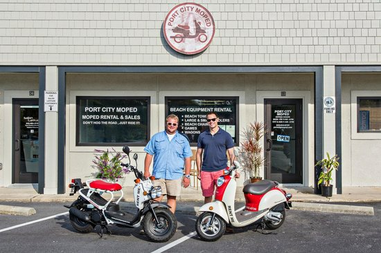 Isle of Palms, Güney Carolina: Owners Jordan Chaplin & Dave Jarman