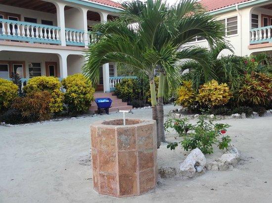 Belizean Shores Resort: Fountain for H2O refill