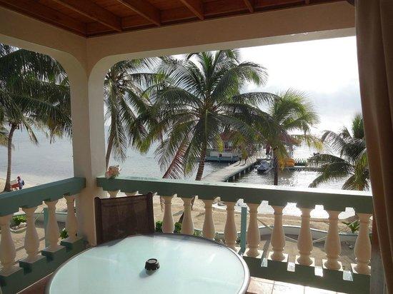 Belizean Shores Resort: TuffEnuff from 12D balcony