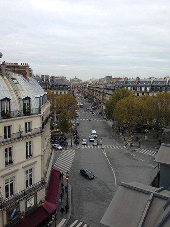 Hotel du Louvre: Panorama dalla camera da letto