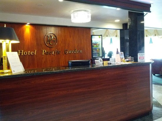Hotel Pacific Garden: Reception