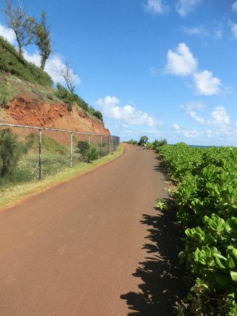 Kauai Path: bike path
