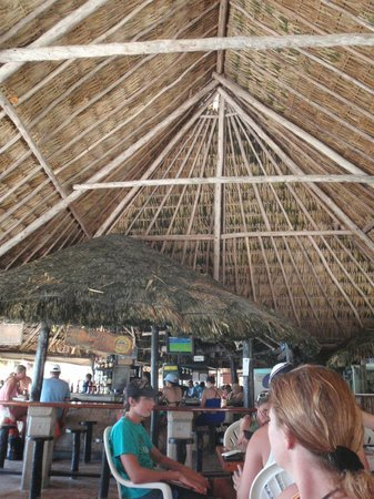 Lol-Ha on Akumal Main Bay: Outside Covered Bar