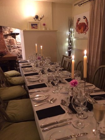 Sampsons Farm Country Hotel: Dinner with friends