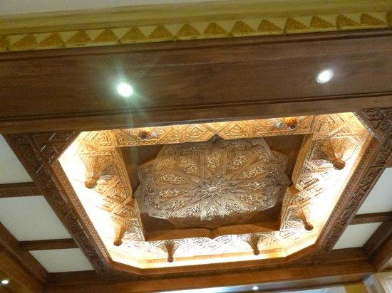 Hotel Eurostars Maimonides: una vista del techo