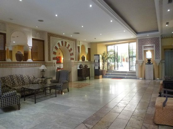 Hotel Eurostars Maimonides: recepcion