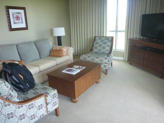 Honua Kai Resort & Spa : Loungeroom