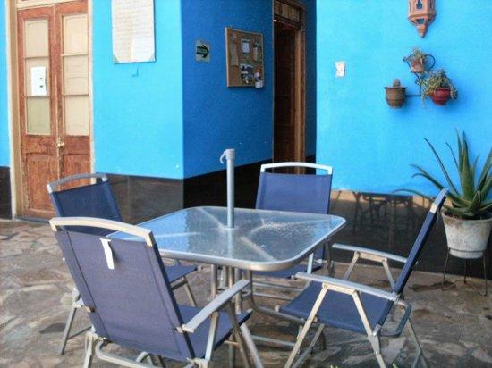 Hostal Scandinavia House: patio