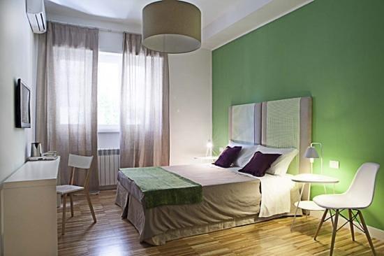 BB22 Roma: stanza verde