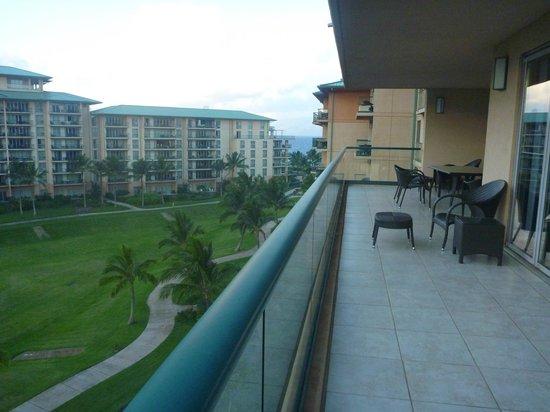 Honua Kai Resort & Spa : View from balcony towards ocean