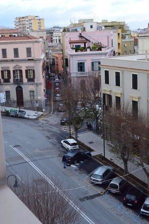 Hotel Regina Margherita - Cagliari: Una delle viste dalla stanza