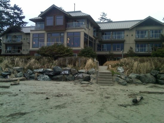 Long Beach Lodge Resort: Hotel From Beach
