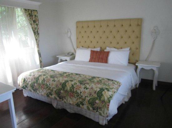 Finca Lerida: Bed in cabin 5