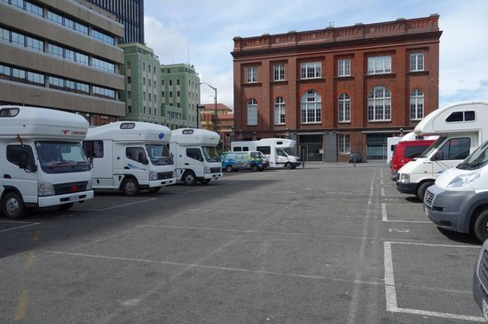 Wellington Waterfront Motorhome Park - TEMPORARILY CLOSED: A view of the site