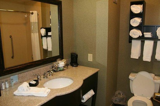 Hampton Inn Covington: Bathroom