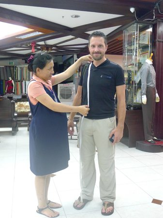 A Dong Silk Tailors: measured up , attention to detail