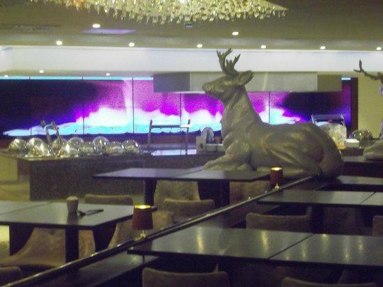 Warner Leisure Hotels Alvaston Hall Hotel: Carvery in 'Grove Restaurant @ Alvaston Hall Hotel (January 2014)