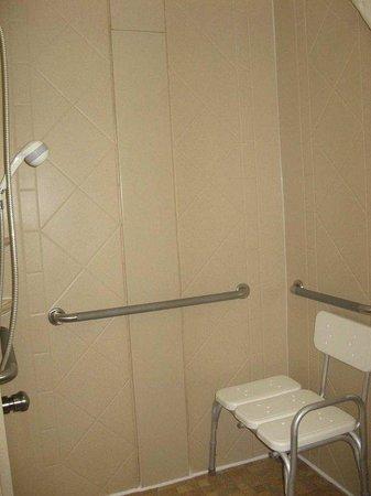 Hampton Inn Franklin: Accessible Room - Shower