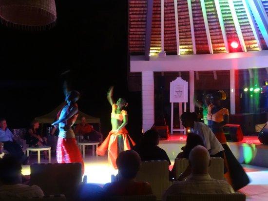Ambre Resort & Spa : spectacle tous les soirs