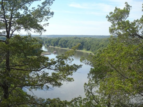 Starved Rock State Park: River view