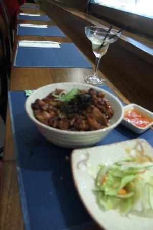 Club Sushi from Tokyo to Seoul: Terryaki Chicken