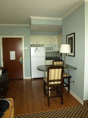 Homewood Suites by Hilton - Bonita Springs: Our King bed Studio Suite