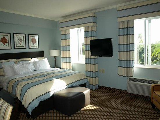 Homewood Suites by Hilton - Bonita Springs : Our King bed Studio Suite