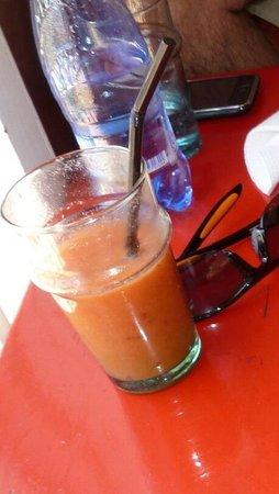 Cafe Des Epices: jus de fruits
