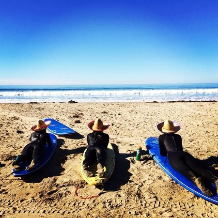 Sandbar Surf School : Taking a break from the waves