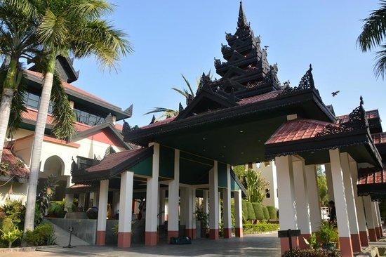 Amazing Bagan Resort: Entrance