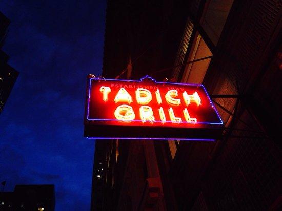 Tadich Grill : California Street sign