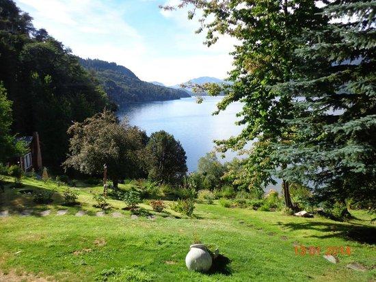 Villa Panil: Vista al lago por la mañana
