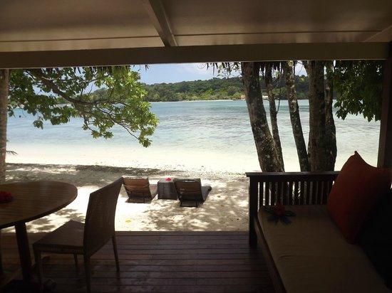 Erakor Island Resort & Spa : view from the back door