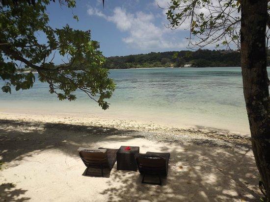 Erakor Island Resort & Spa : outside our room