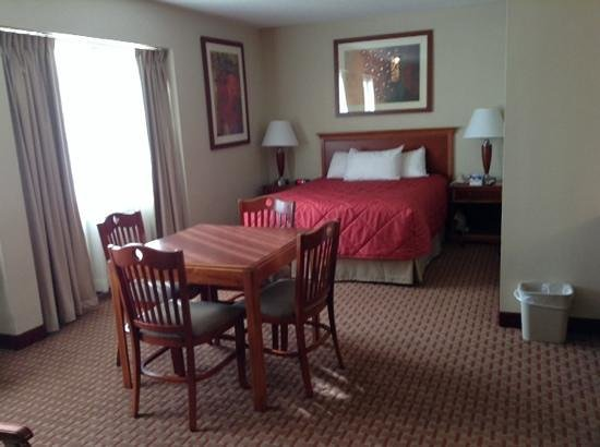 Ramada Burlington Hotel & Conference Center: queen bed