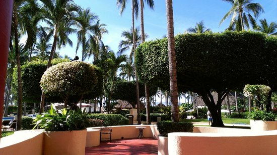 The Westin Resort & Spa Puerto Vallarta: Grounds walking back from the gym