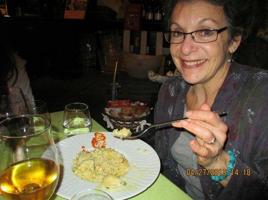 Ristorante Donna Sofia: Loving the risotto!