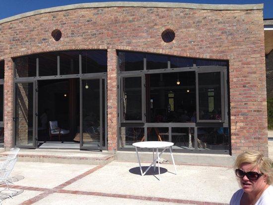 Spookfontein Restaurant: Spookfontein veranda - exceptional venue