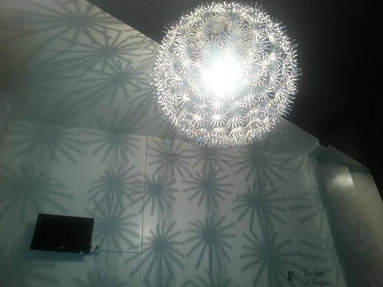 Cristallo Hotel Brescia: la lampe
