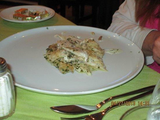 Ristorante Donna Sofia: Expertly prepared seafood